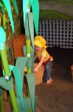 Catfish Corners (in the Heritage Center) gives little ones a chance to imagine life as pioneers.