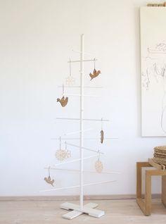 Per i minimalisti, anche a Natale! @Trine Find - Filigrantræ - Pynt