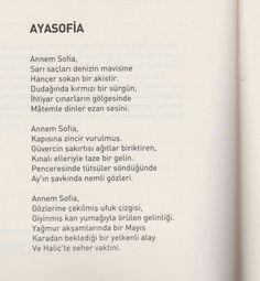 Güven Fatsa Ayasofia şiiri Yedi İklim Kültür Edebiyat Dergisi 2016 Mart Sayısı (312.Sayı)