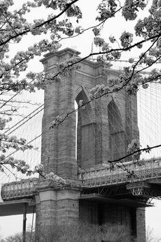 Brooklyn Bridge in the Spring