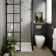 Multipanel on February 28 can find Concrete bathroom and more on our website.Multipanel on February 28 2020 Bathroom Wall Panels, Loft Bathroom, Bathroom Ideas, Modern Bathroom, Bathroom Organization, Ikea Bathroom, Minimalist Bathroom, Bathroom Layout, Master Bathroom