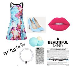 """""""Untitled #256"""" by awesthoff0513 on Polyvore featuring JustFab, Lime Crime, River Island and Yves Saint Laurent"""