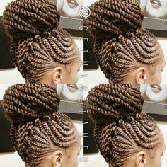 Braided mohawk with feed in cornrows. Ghana cornrows. Ghana braids. Braided mohawk. Faux hawk. Follow me on instagram @getmanetamed.