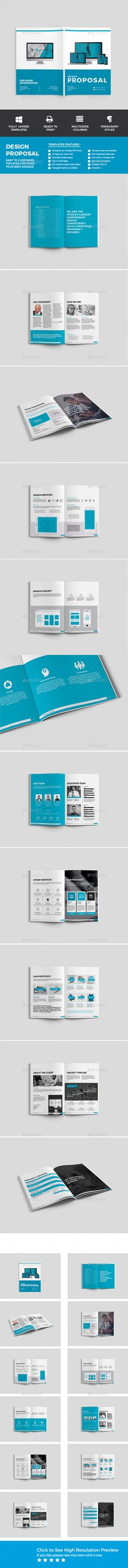 Business Proposal Template g1 - A4 Landscape Business proposal - website proposal template