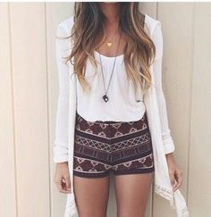 #outfitiftheday #women #girlystyle #outfitidea #dressy #style #mylook #summeroutfits #ootd #woman #instamode #instalook #fashionaddict #summer #instaglam #shorts #ladies #instalooks #trendy #outfit #Highwaistedshorts #girly #fashiondiaries #tumblroutfit #lookoftheday #aztec http://goo.gl/gOhtQV