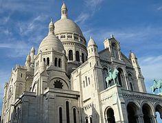 Sacre Coeur - Paris - França