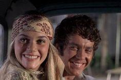 Peggy Lipton and Michael Cole - so mod!