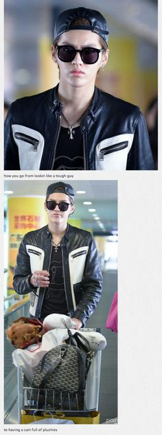 That's Kris's style. Right there.