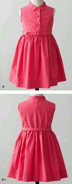 Inspiration for the Oliver + S Building Block Dress sewing book. Little Dresses, Little Girl Dresses, Girls Dresses, Kids Frocks, Frocks For Girls, Little Girl Fashion, Kids Fashion, Baby Dress Tutorials, Dress Anak