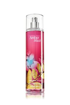Amber Blush-Capture the sensual warmth and luxury of a romantic getaway! Raspberry champagne & gardenia petals mingle with a seductive kiss of crystallized amber for an ultra-feminine scent.