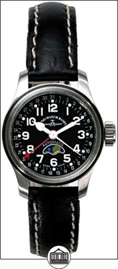 Zeno-Watch Reloj Hombre - Pilot Lady - Moon Phase - 8455L-a1  ✿ Relojes para mujer - (Lujo) ✿