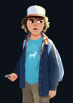 Jody: Dustin from Stranger Things for Sketch Dailies
