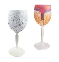 Wedding Chalics Frosted Droplet Hot Tie Goblet, Bride and Groom Glasses,10oz, Set of 2 MysticLand http://www.amazon.com/dp/B01BBPBWT0/ref=cm_sw_r_pi_dp_y9rSwb0ND2962