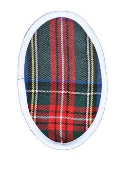 Cuadro escocés ribete blanco, Refasion, S.L.