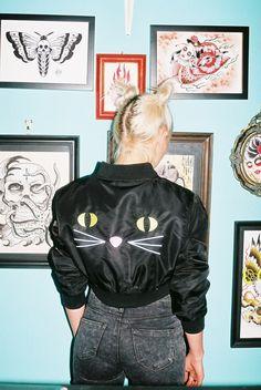 Kitty Bomber Jacket