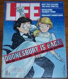 Life Magazine October 1984 Doonesbury is Back