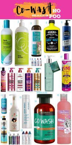 Lista de produtos liberados para no poo: condicionadores sem silicone e produtos específicos para co-wash. @ohlollas Lista de produtos liberados para no poo: condicionadores sem silicone e produtos específicos para co-wash. @ohlollas Conditioners silicon free for curly girl method. #CoWash #NoPoo #Liberados Dos baratinhos aos carinhos! Deva Curl, Yenzah, Lola Cosmetics, Aspa, Loreal Elseve, Amend, #todecacho, Surya Brasil, Joico, Bio Extratus, Yamasterol, Mari Morena, Salon Opus.