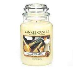 Yankee Candle Pina Colada Large JAR | eBay