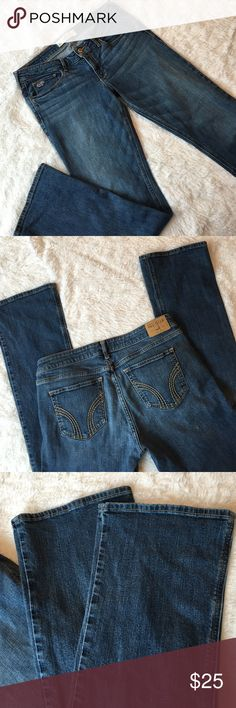 "Hollister woman's jeans 33"" inseam. W30 L33 11 regular excellent condition. Bin#2 Hollister Jeans"