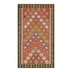 "I pinned this Vintage Gia Kilim 8'2"" x 4'8"" Rug from the Apadana event at Joss and Main!"