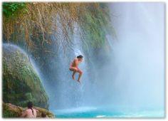 Havasupai Hikes - Grand Canyon Hikes - Grand Canyon Adventure Tours to Havasu Falls in Grand Canyon, Arizona.