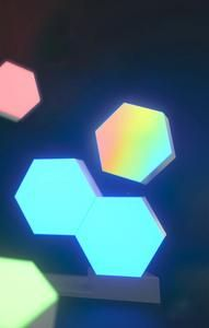 Luminesso Customizable Touch Activated Hexagon Lights Luminessobrand Lights Home Panel Night Light
