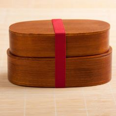Japanese Bento Box - Two-stage Lunch Box Made From Cedar Wood (Dark Wood) Goodwei Japanese Bento Box, Japanese History, Lunch To Go, Asian, Dark Wood, Food Art, Home Goods, Ottoman, Container