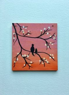 Mama Baby Tiny Wood Painting Acrylic Wood Wall Art Pink Orange Ombre Wall Hanging Gifts For Her Mom Mama Amp Baby Tiny Wood Painting Acrylic Wood Wall Art Pink Orange Ombre Wall Hanging Gifts For Small Canvas Paintings, Easy Canvas Art, Small Canvas Art, Easy Canvas Painting, Cute Paintings, Mini Canvas Art, Moon Painting, Easy Nature Paintings, Trippy Painting
