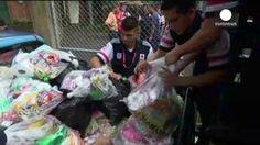 Mil quinientas casas afectadas por las inundaciones en Costa Rica