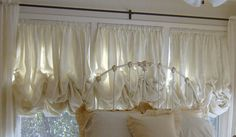 SewcrazyBrand Shabby Chic Balloon Shades by sewcrazybrand on Etsy, $259.00