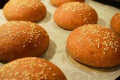 PAN PARA HAMBURGUESAS INGREDIENTES ½ kilo de harina de espelta o integral 325 cm3 de agua 80 grs. de aceite de oliva 1 cucharada de azúcar 10 grs. de sal fina 10 ...