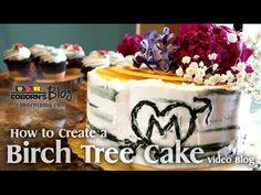 How To Create A Birch Tree Cake
