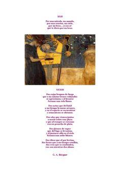 Gustavo A. Bécquer y Gustav Klimt