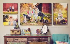 I love all thing's Annie Manning....She is such a huge inspiration to me...I love her photography and her sense of style...This is such a beautiful simple wall display...Great ideas for the entrance into my studio.