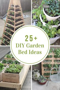 Depending upon your space, style, and needs, I have rounded up some DIY Garden Bed Ideas that are sure to help inspire the design that is best for you.