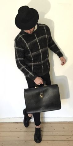 New in StylebyFJ Black Hat Bag Levis  Weekday Second hand