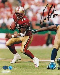 AAA Sports Memorabilia LLC - Kevan Barlow San Francisco 49ers Autographed 8x10 Photo -Running-, $17.95 (http://www.aaasportsmemorabilia.com/nfl/san-francisco-49ers/kevan-barlow-san-francisco-49ers-autographed-8x10-photo-running/)