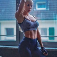 Busty adventures the gym babe