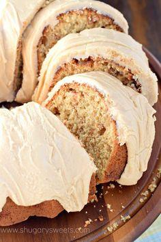 Caramel Apple Bundt Cake recipe