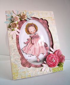 Alice Wertz: Alice's {Little} Wonderland – Lily Pad Cards Frames, Dies & Dimensions Challenge - 4/15/11.  (Pin#1: Framed:... Pin+: Mo Manning; Coloring Layouts).