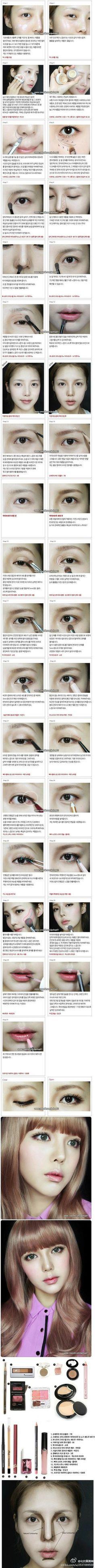 【韩国PONY彩妆】这次的鼻影画法好值得学习~~ - 堆糖 发现生活_收集美好_分享图片