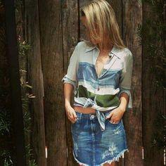 #shirt #skirt #jeans #denim #tiedye #bohostyle #boho #bohochic