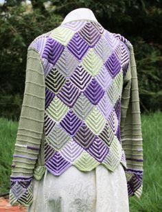 Domino Knitting Blanket Pattern : knitting: domino knitting on Pinterest Knitting, Square ...