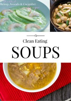 Clean Eating Soups | homemadeforelle.com