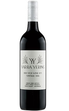 Yarra Yering Dry Red Wine No.1 2016 Yarra Valley - 12 Bottles Dry Red Wine, Grilled Lamb, Yarra Valley, Grape Juice, Cabernet Sauvignon, Marzipan, Wines, Bottles