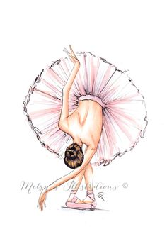 The Ballerina by Melsys on Etsy