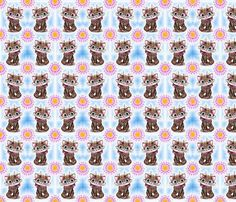 Panther kitty cat fabric by vinkeli on Spoonflower - custom fabric Cat Fabric, Spoonflower Fabric, Custom Fabric, Panther, Fabrics, Gift Wrapping, Kitty, Colorful, Printed