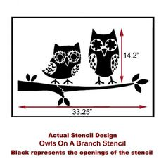 9-owls-on-a-branch-wall-stencil-for-nurseries.