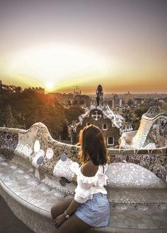 The 10 Most Instagrammable Spots In Barcelona | littleblackshell.com IG: @littleblackshell