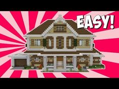 Minecraft: How To Build a Modern UNDERWATER HOUSE Tutorial [ How to make ] 2017 - YouTube